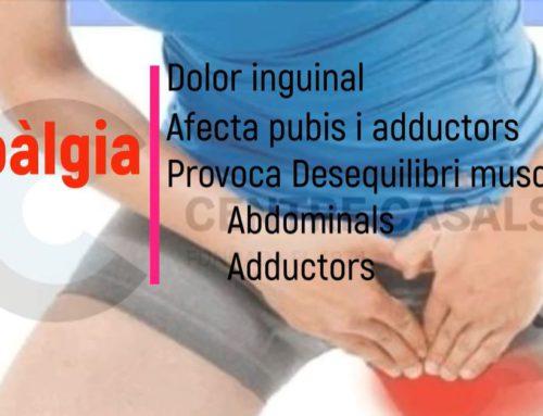¿Qué es la pubalgia?